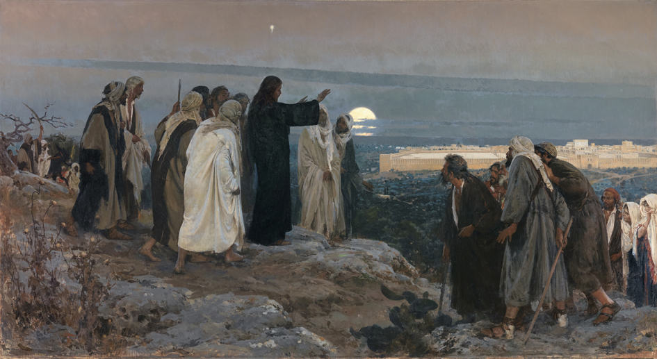 Jesus weeps at future of second temple