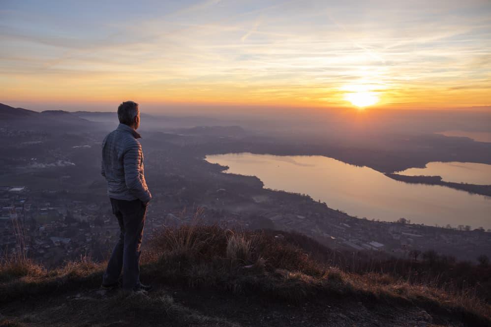 Sunrise Hiker