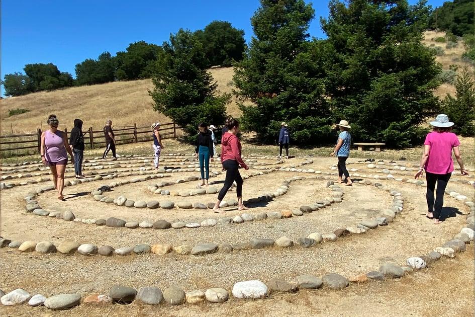 Sunburst Labyrinth Walk
