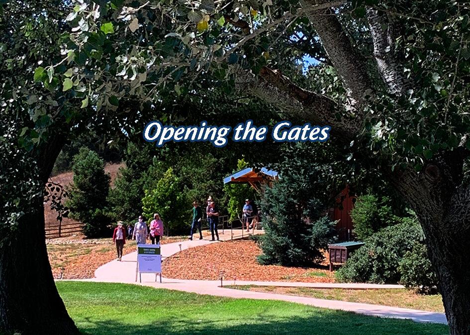 Light on Sunburst Sanctuary – Opening the Gates Once Again!